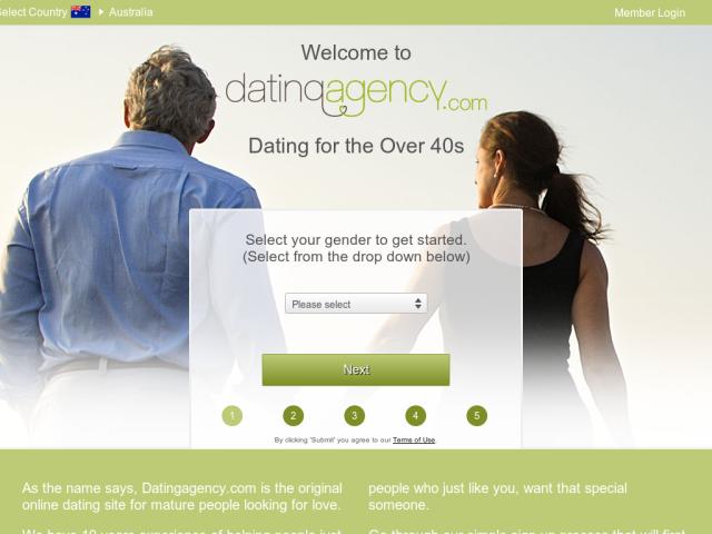Login dating agency International Senior